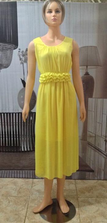 Long Dress Yellow (BS D 46)