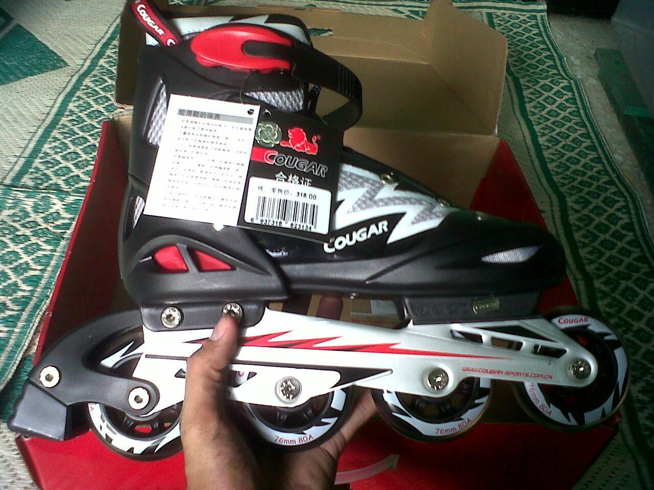 Terjual Sepatu Roda Roller Blade In Line Skate Cougar Kaskus 4c5dd63633