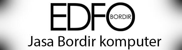 Jasa Bordir komputer, custom emblem logo / nama, dll