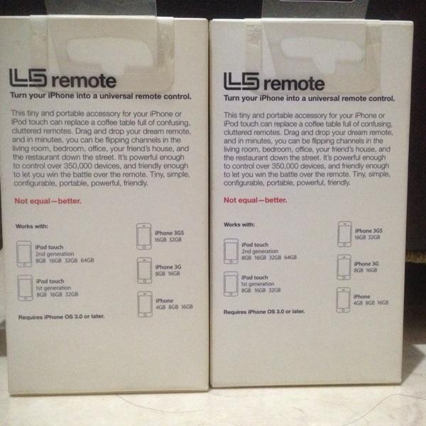 L5 Remote (Remote universal iPhone,iPad,iPod Touch)