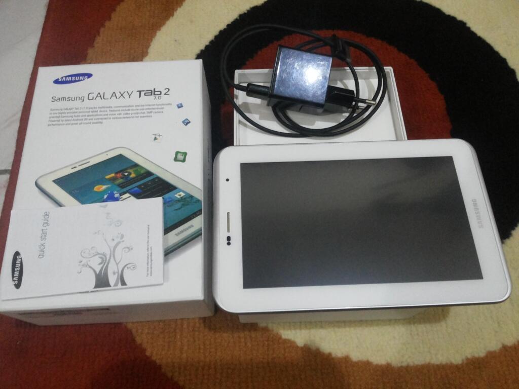 Samsung Galaxy Tab 2 P3100 Full Sett 16gb + Banyak Bonusnya