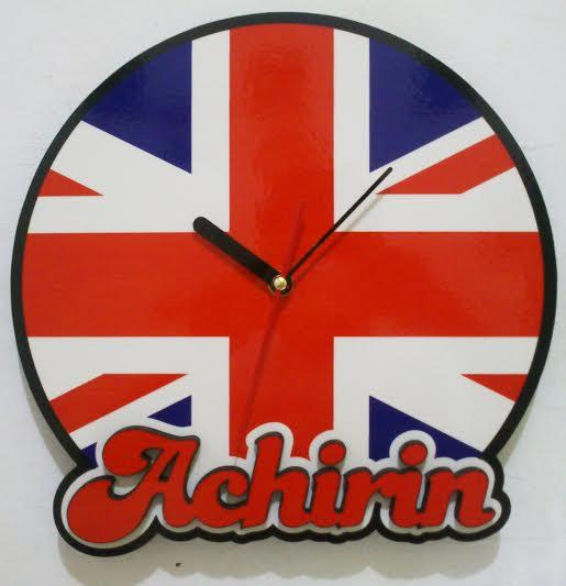 Jam Dinding ( Wall Clock ) Club Bola :) rare item, Limited.. so.. grab it fast :)