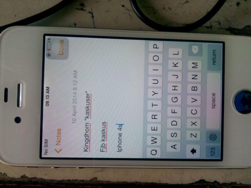 iphone 4s 32gb white super duper mulus harga murah gak nyesel nego tipis
