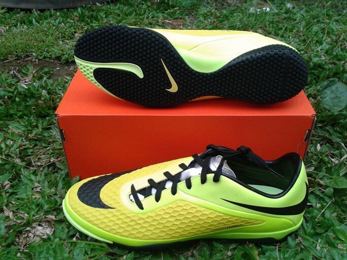 jual sepatu futsal neymar nike Hypervenom phelon ic vibrant yellow original