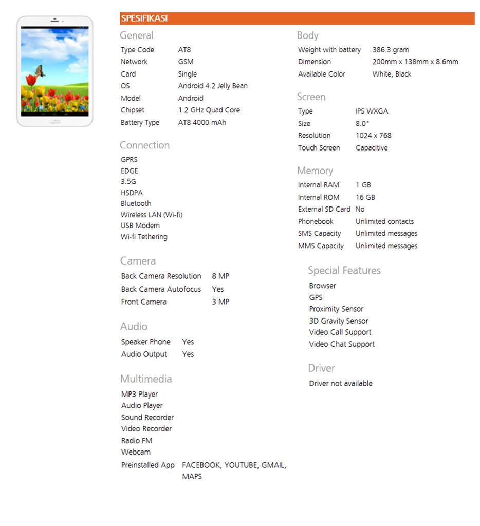 Nekat Beli Tablet Lokal  Evercoss AT8  0602ba3628