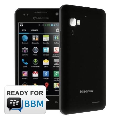 Smartfren AndroMax-i AD685G (NEW) - Black | Android v4.1 Jelly B