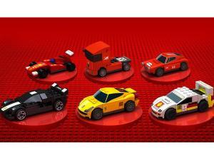 Lego Shell Ferari - 1 set