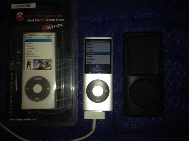 iPod Nano 4th gen Black 8gb