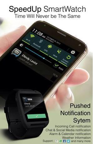 [WAITING LOUNGE] SpeedUp Smart Watch Android Kit Kat