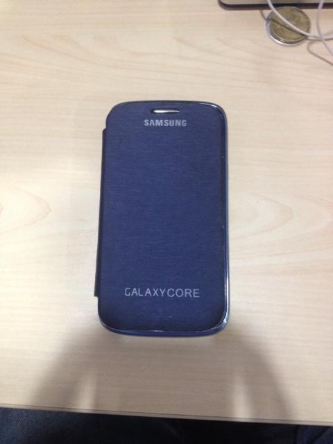 Jual Samsung Galaxy Core , GT-I8262 , Second - BLue Metallic