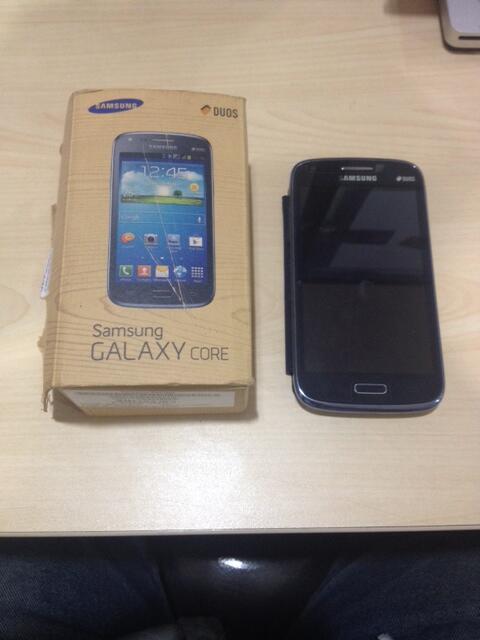 Jual Samsung Galaxy Core , GT-I8262 , Second - BLue Metallic