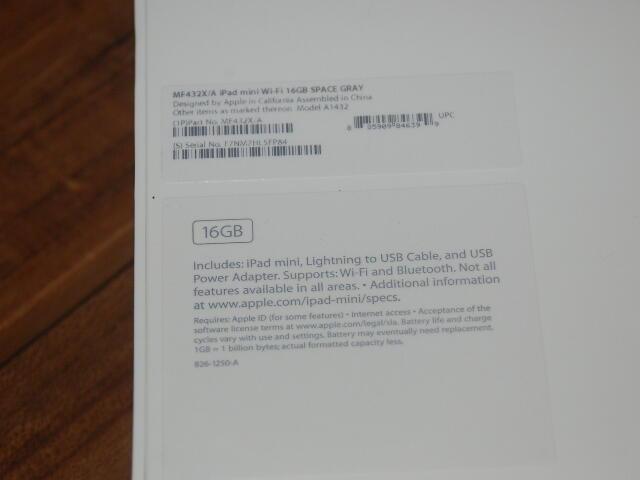 BNIB iPad Mini 1 Wifi 16GB Murahhhh