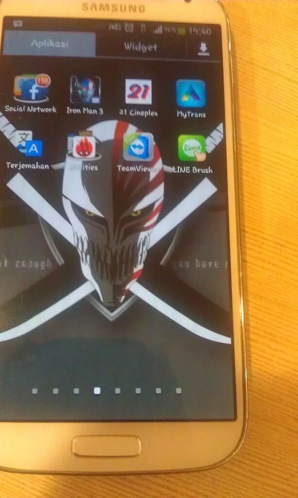 Jual Murah : Samsung Galaxy S4 GT-I9500 (Kondisi Second) DIJAMIN GAK RUGI