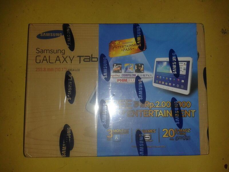 "BNIB Samsung Galaxy Tab 3 16gb 10.1"" Garansi SEIN 1 thn MURAH !"