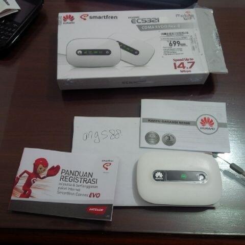 modem router Huawei EC 5321 CDMA EVDO Rev B