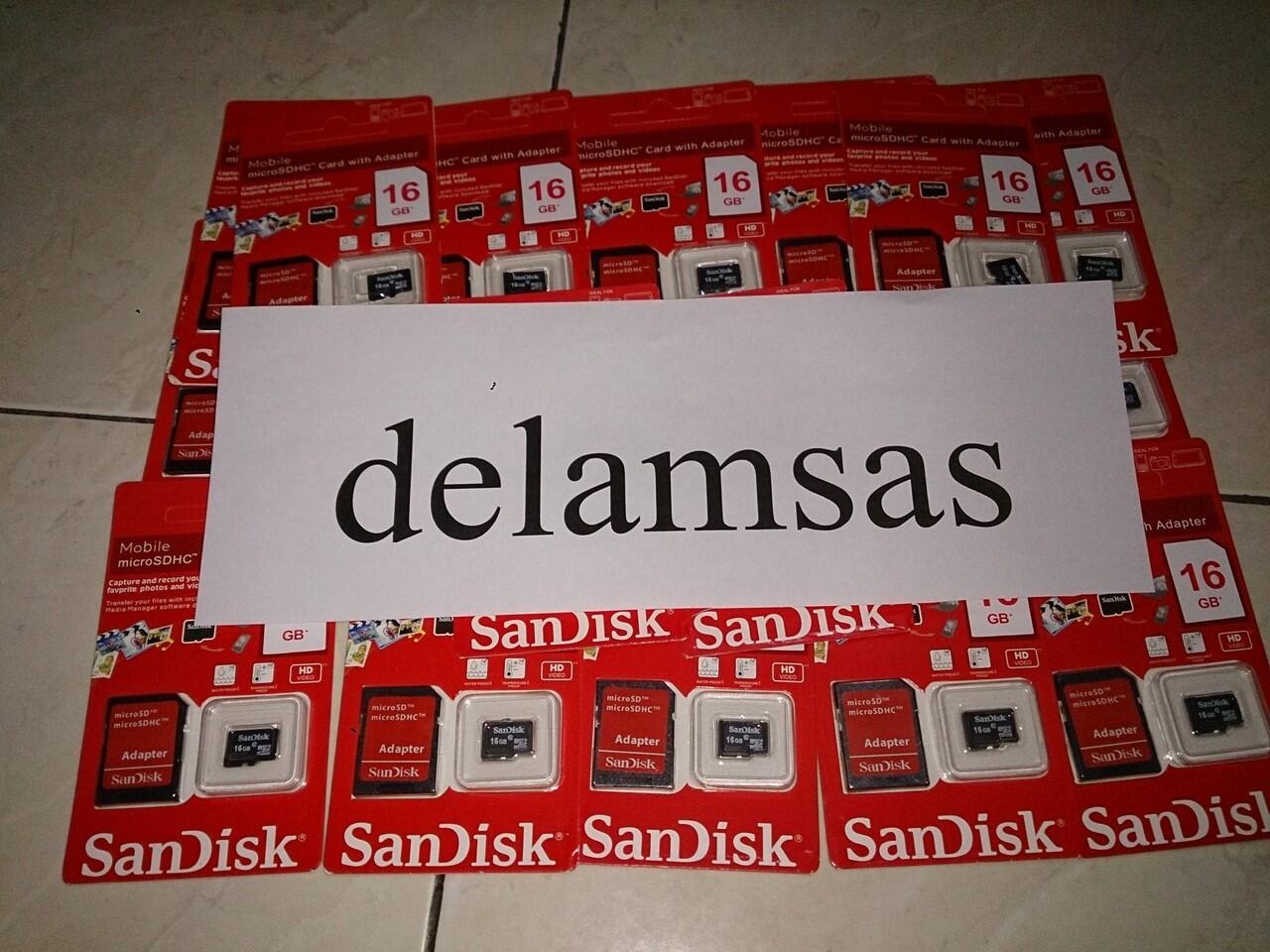 Jual Sandisk Micro SDHC 16/32/64 GB Class 10 Boleh Nego.....