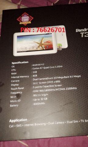 [WTS] Tablet Vandroid T3c