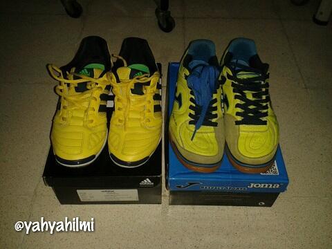 Jual Cepat Sepatu Futsal Original Adidas Topsala & Joma Topflex Mulus Murah