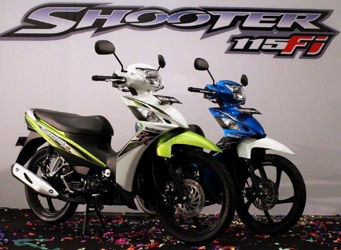 Suzuki Shooter 115 SR ( Promo Kredit ) ,--