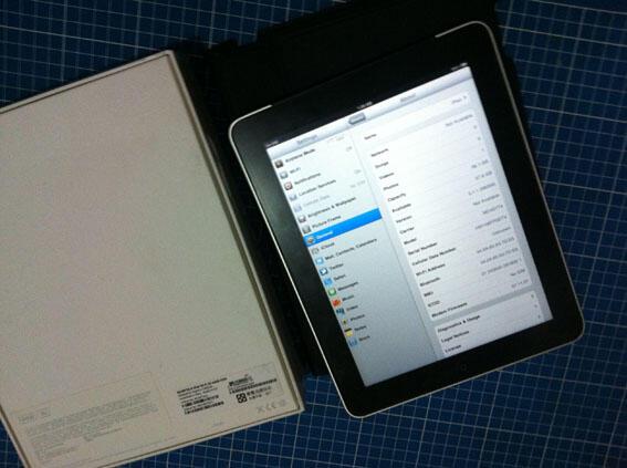 iPad 1 64gb 3g+WiFi + bonus iPod touch 1, bandung COD