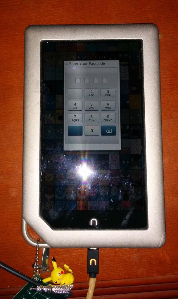[JUAL] NOOK TABLET 8GB (E-book Reader + Android Tablet) Bonus VGEN 16GB