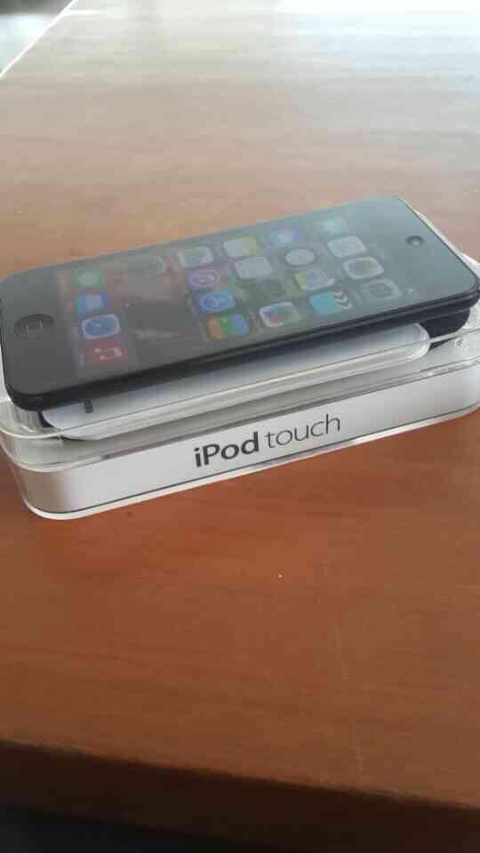 ipod touch 5gen black 32gb black mulus fullset