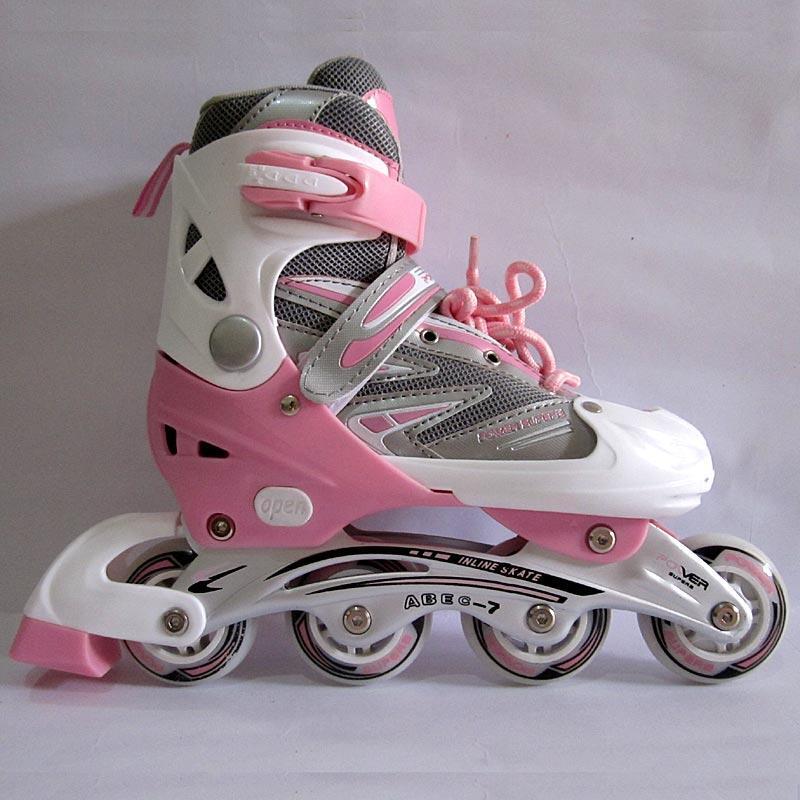 Terjual Sepatu Roda Inline Skate POWER SUPERB 2 Pink (Size XL)  a231eee32b