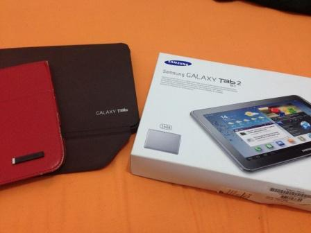 Samsung Galaxy Tab 2 10.1 - WIFI dan 3G - harga ok dan kondisi mulus 99%