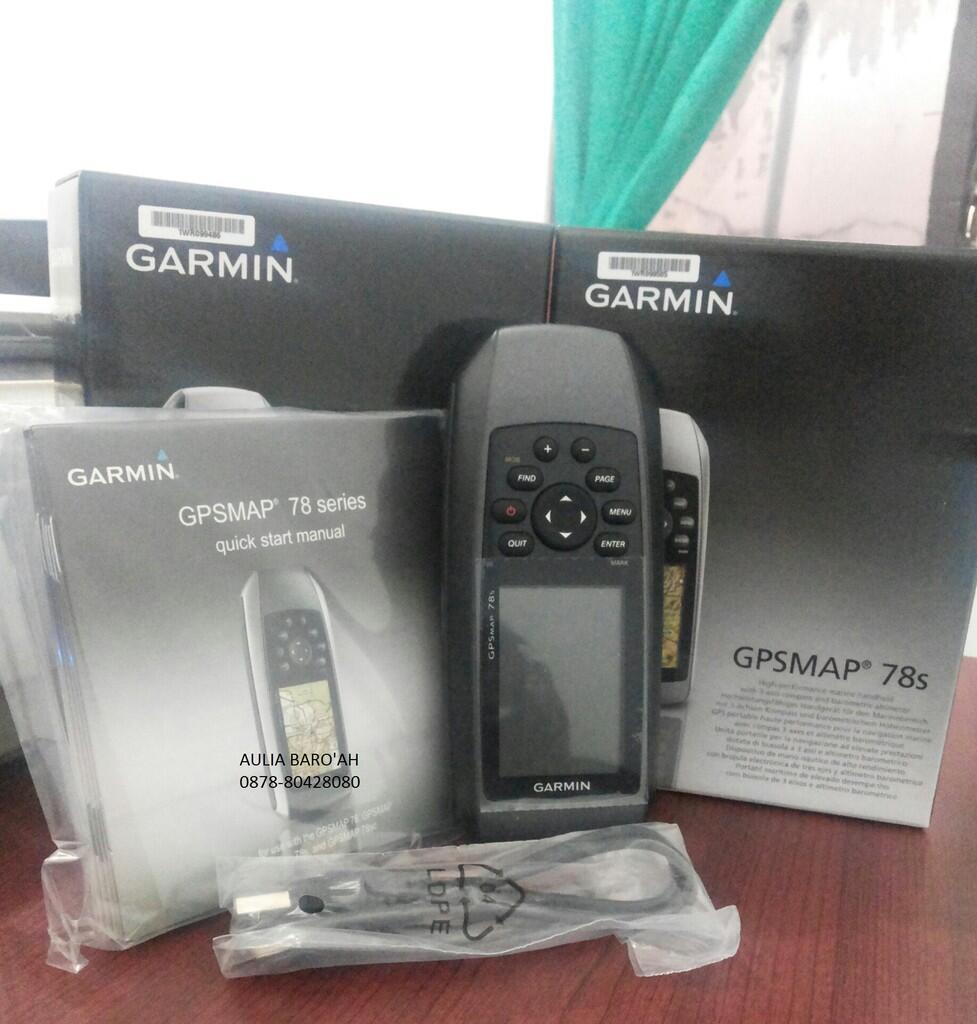 GPS 78s Garmin Ready stock