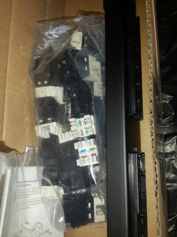 jual patch panel amp 24 port cat 6