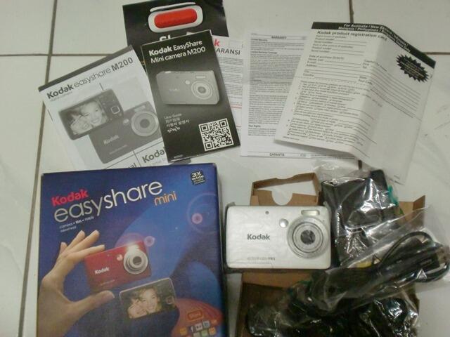 Jual Digital Pocket Camera KODAK EASYSHARE M200 (10MP)