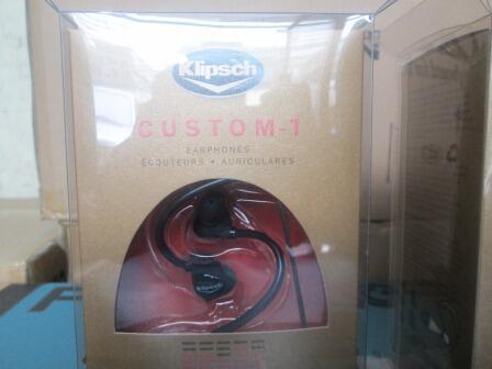 _=Obral barang MEWAH harga MURAH Klipsch Custom 1 & 2=_