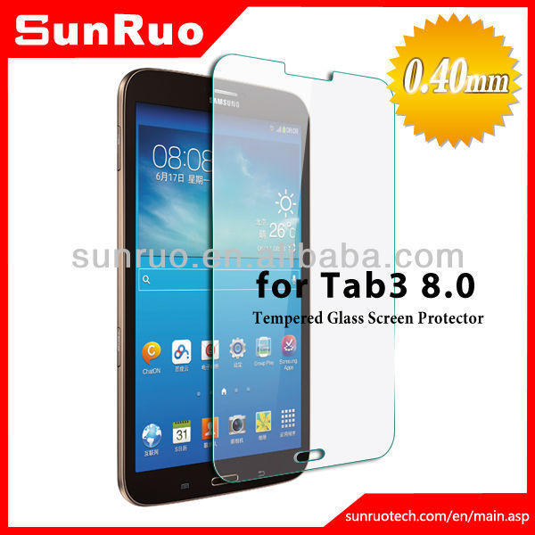 """Screen Protector Tempered Glass untung Samsung Tab 3 8"""""""