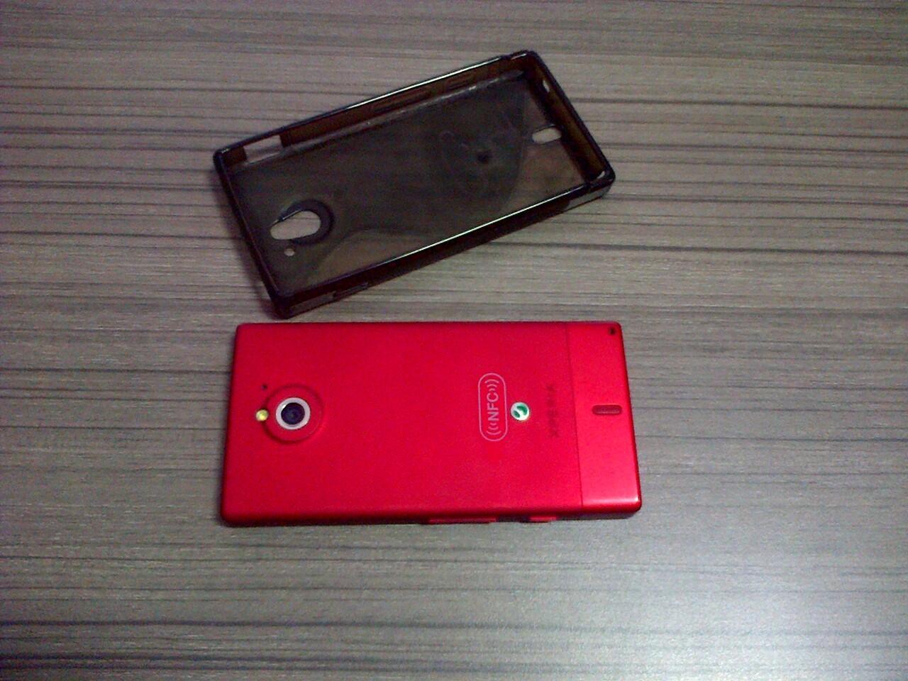 Jual Dijual Sony Xperia Sola Merah di Bandung Cimahi