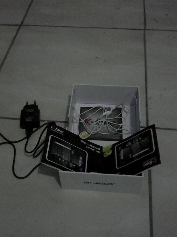 WTS TABLET K FONE T200 HITAM 3G TV JB
