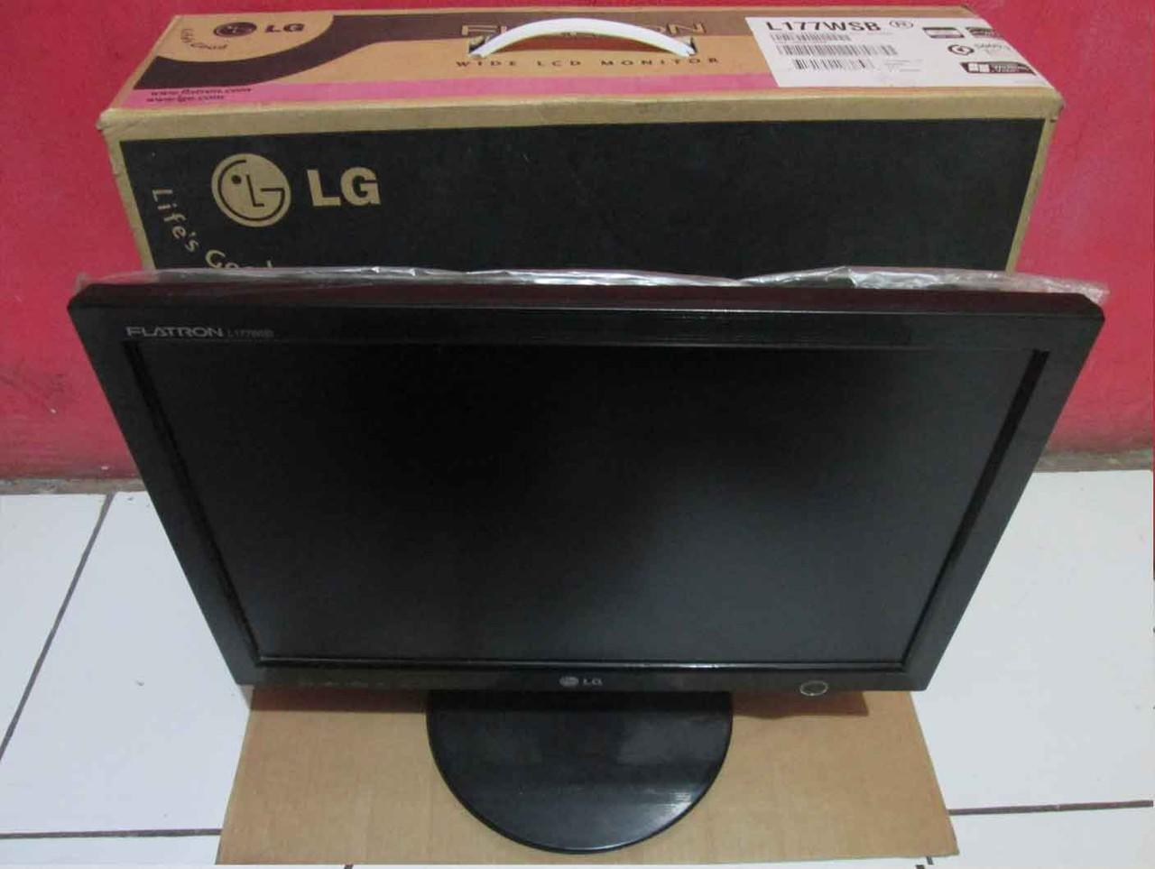 Terjual LCD Monitor LG Flatron Tipe L177WSB 17