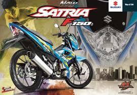 satria fu face lift 2014 UANG MUKA1.5 jt