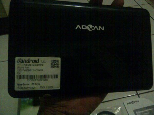 Jual Tablet PC Advan Vandroid T2C