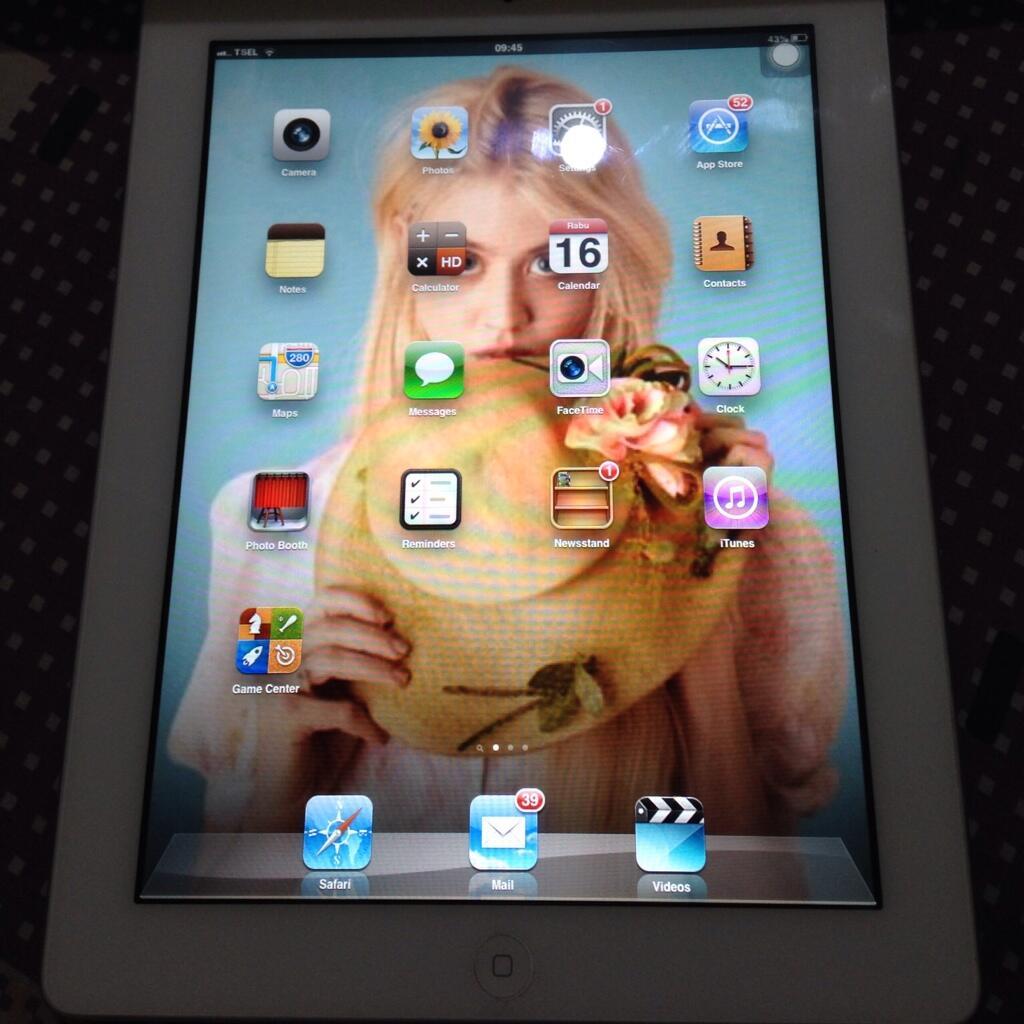JUAL ipad 2 16G 3G+Wifi white second