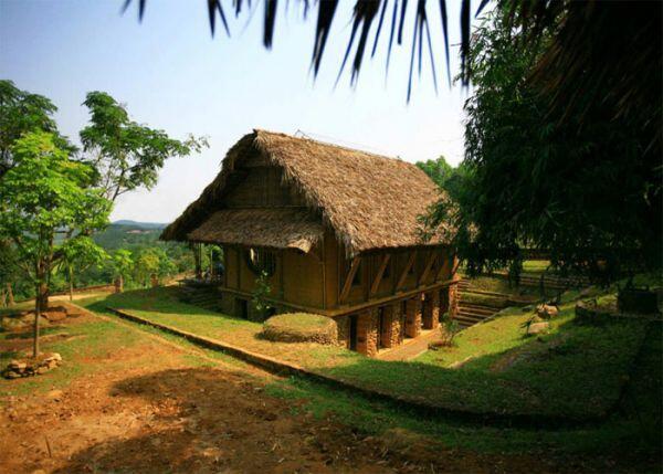 [Amazing] Perpustakaan Multifungsi yang Terbuat dari Bambu di Vietnam.
