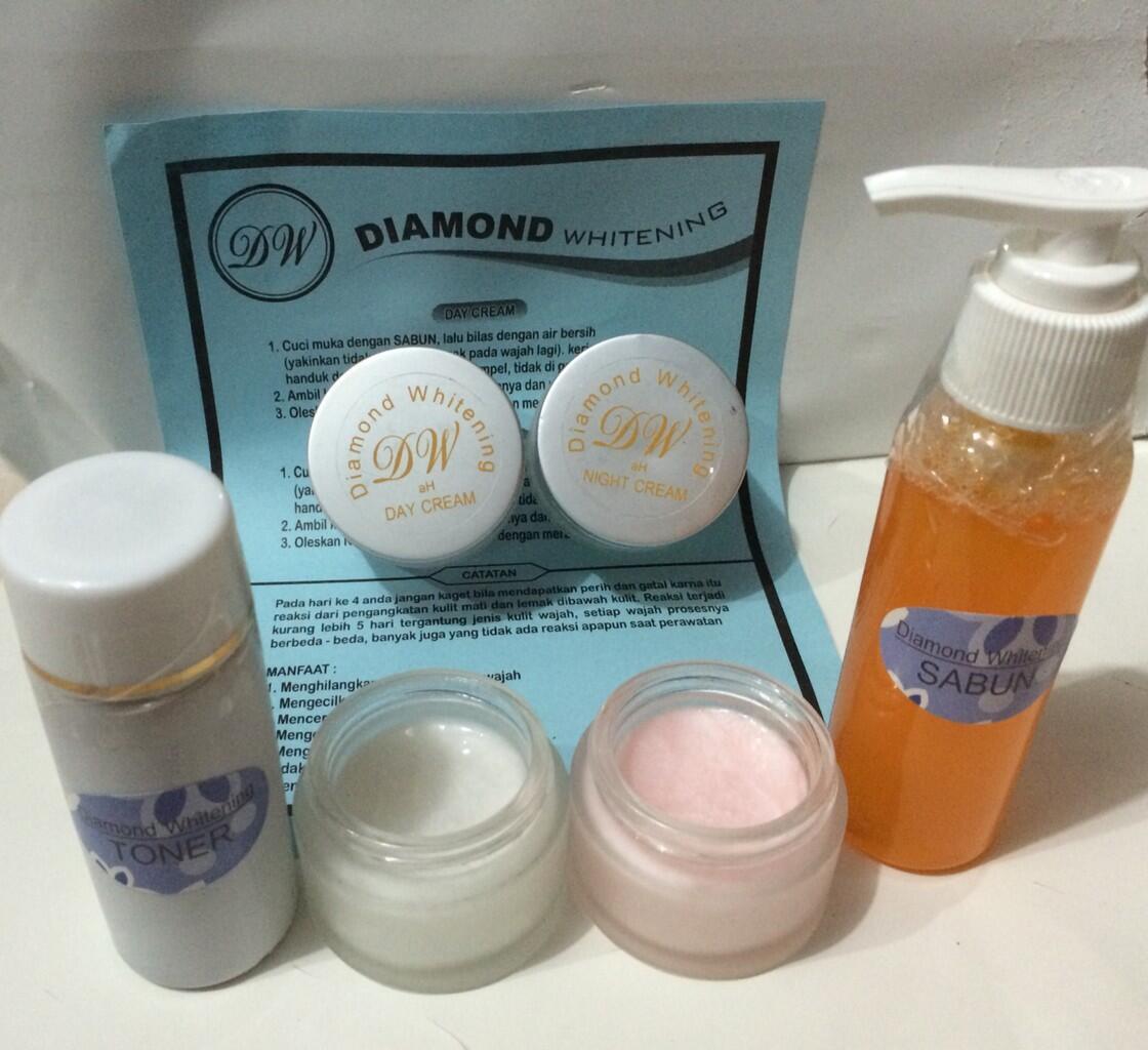 CREAM DIAMOND WHITENING|CREAM DW|WAJAH CERAH DALAM 2 MINGGU|BONUS REWARD PENJUALAN