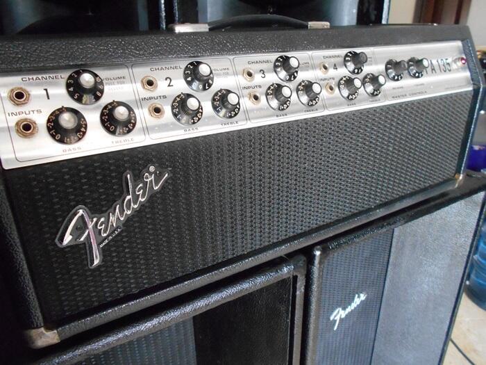Head Cabinet Fender Original U.s.a (vintage)