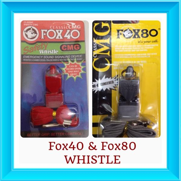 Whistle / Peluit Fox40 & Fox80 buat train parrot / BOP