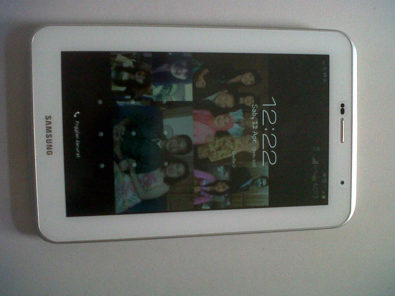 Samsung Galaxy Tab 2 7.0 P3100 warna putih