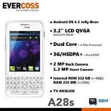 Android Tombol Qwerty Evercoss A28S