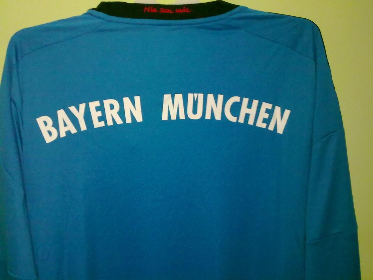 Jersey Grade Ori Bayern Munchen Goal Keeper Longsleeve 2013/2014