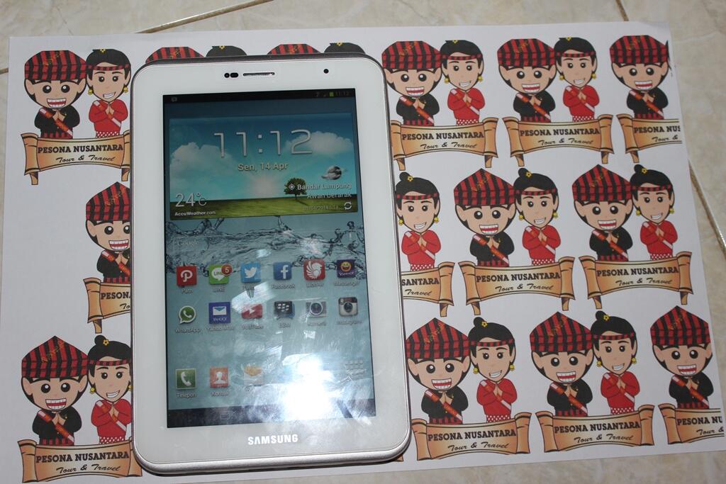 Dijual santai Samsung Galaxy Tab 2 P3100