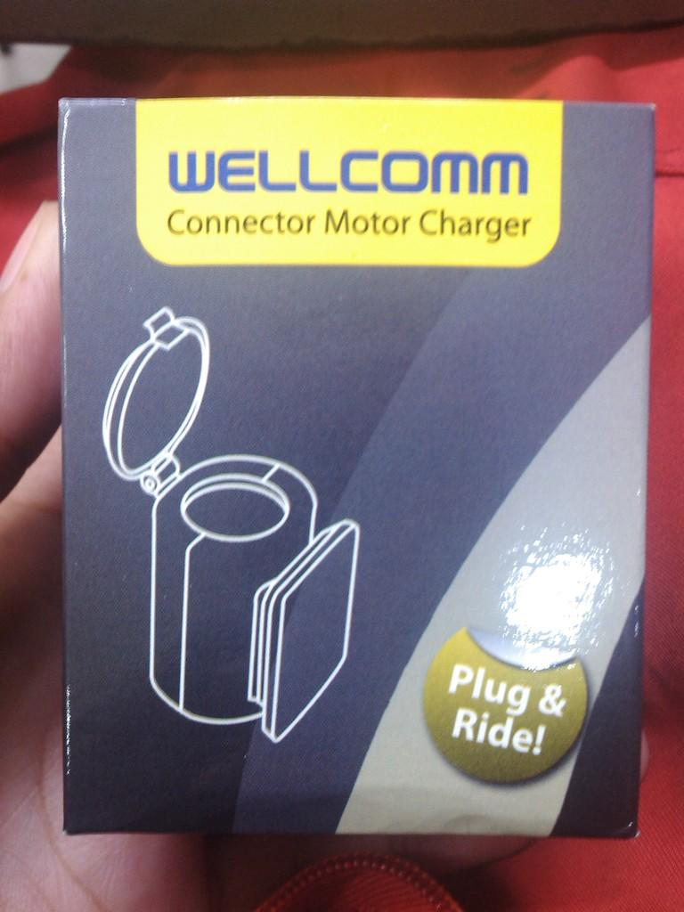Charger Motor Wellcomm Baru (reseller very welcome)