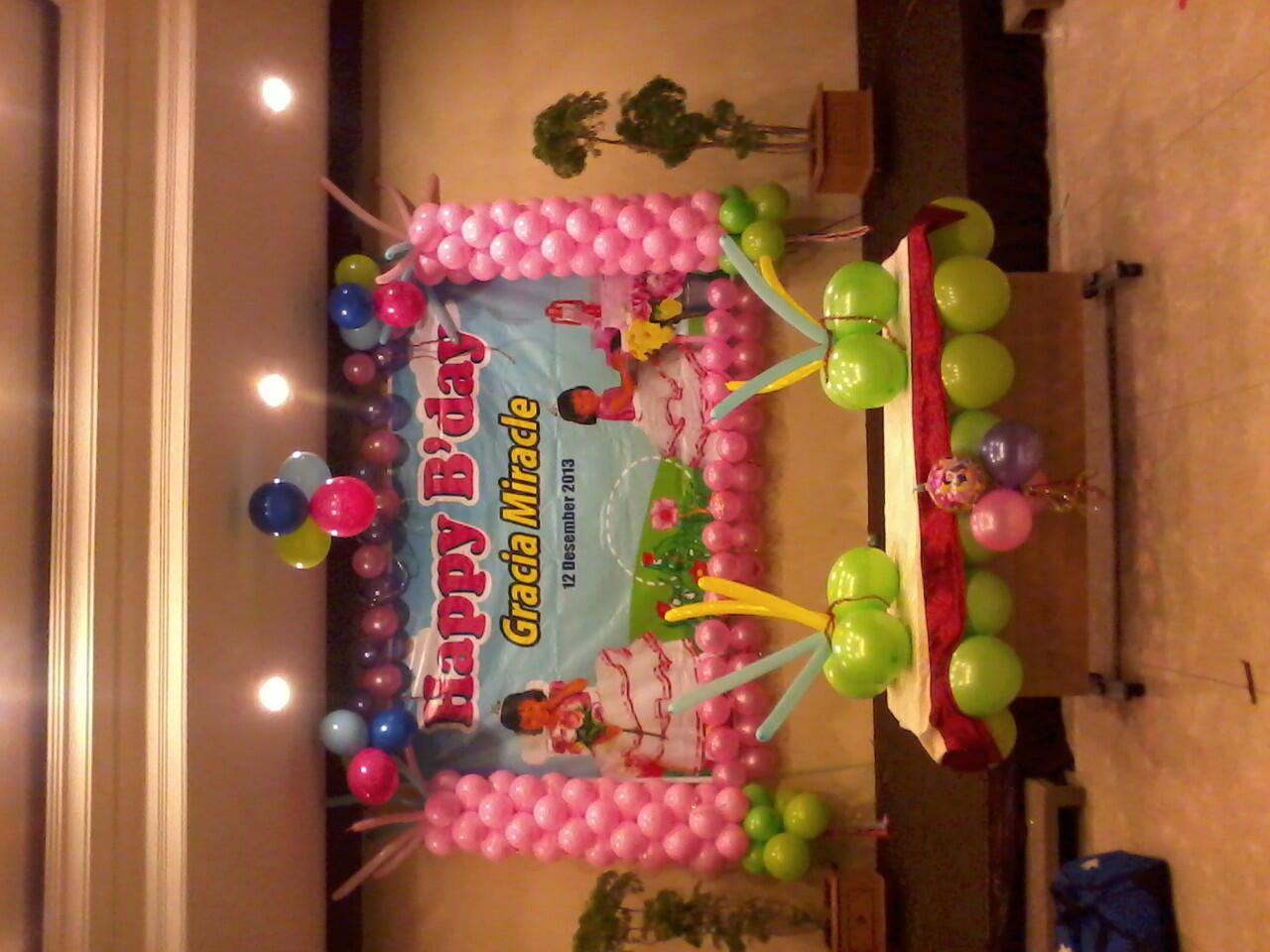 Jasa dekorasi balon di solo