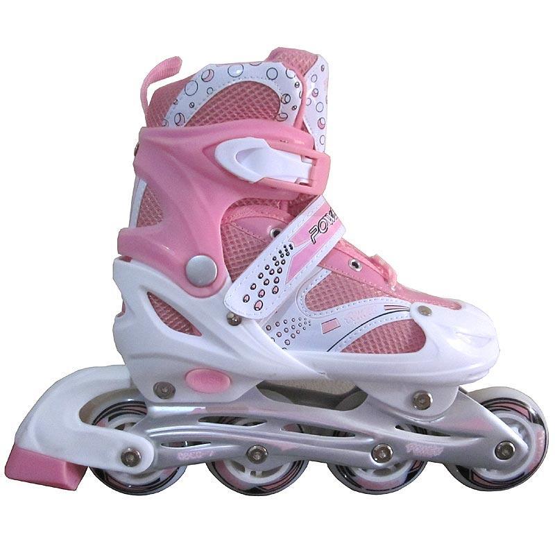Terjual Sepatu Roda Inline Skate POWER SUPERB Pink (Size L)  1c1353a9bc